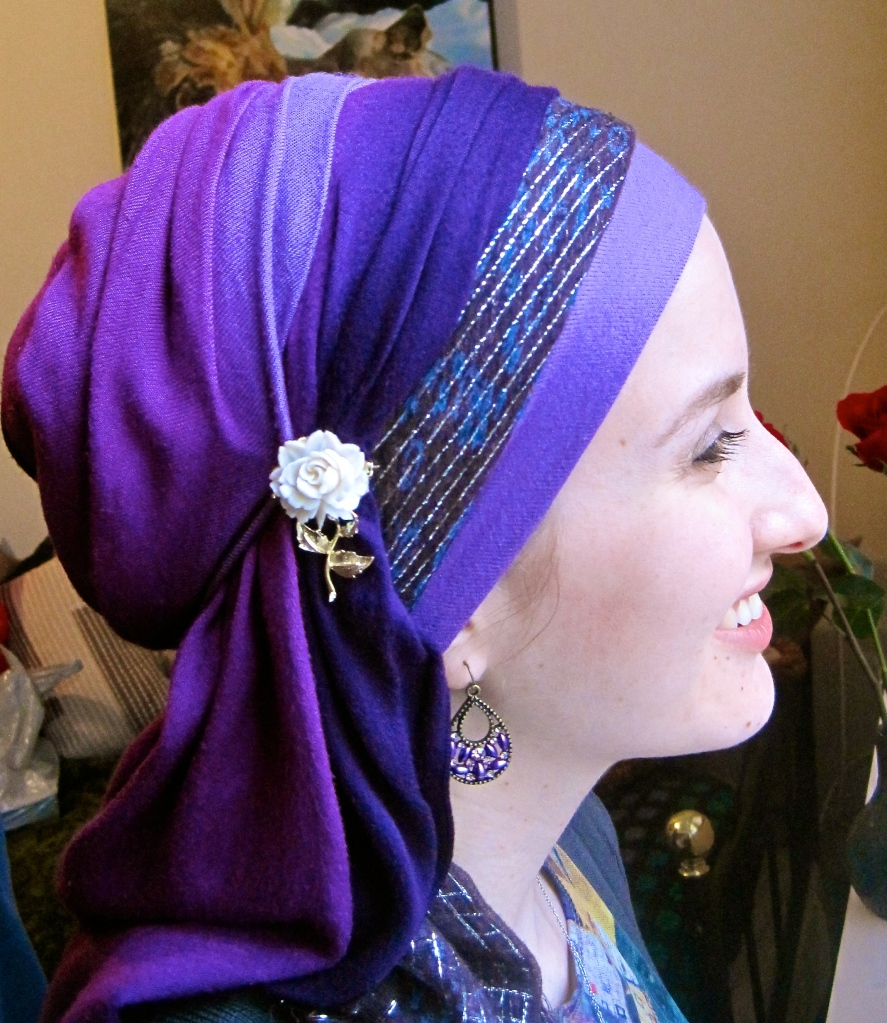 How to do a new gorgeous head wrap!