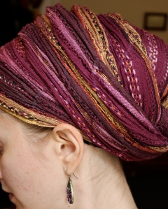 Step-by-step Regal Wrap (aka Turban)