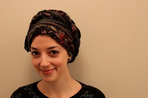head covering hair loss braid fancy